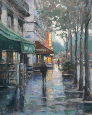 David FARREN - Early Morning Reflections, Paris