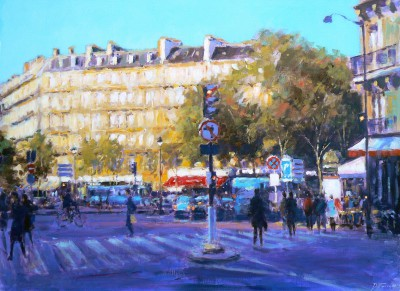 David FARREN - Golden Light, Paris