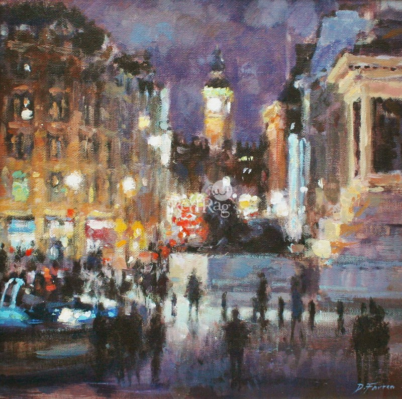 David FARREN - Nightfall, Trafalgar Square