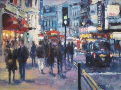 David FARREN - Evening out, Shaftesbury Avenue