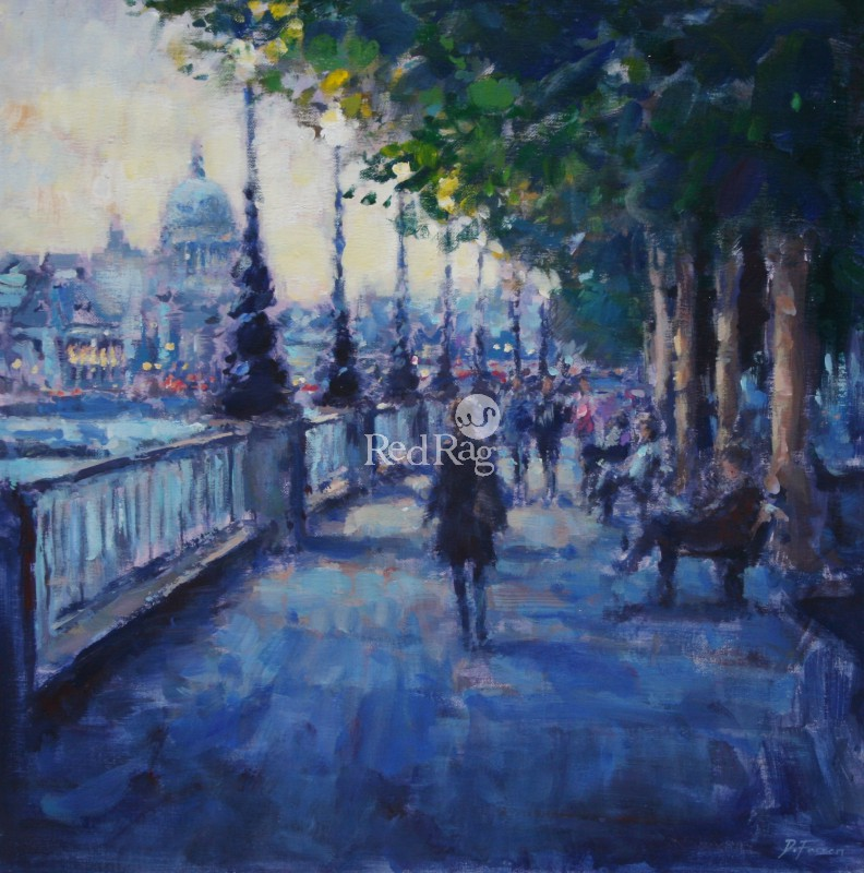 David FARREN - Evening Stroll, Southbank