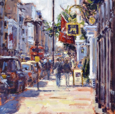 David FARREN - Summer Day, St James's Street, London