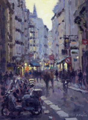 David FARREN - Evening, Saint-Germain-des-Pres