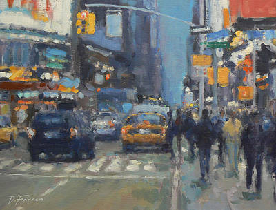 David FARREN - Early Evening 42nd Street