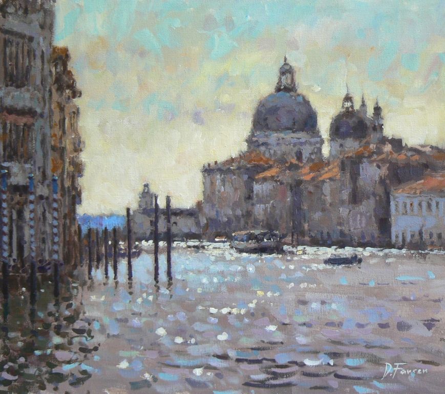 David FARREN - Vaporetto, Grand Canal