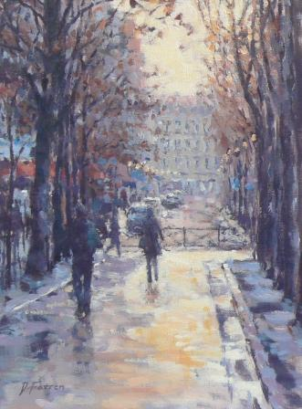 David FARREN - Autumn Afternoon, Paris