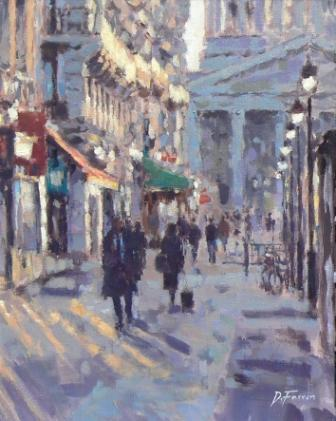 David FARREN - Evening Light, Paris