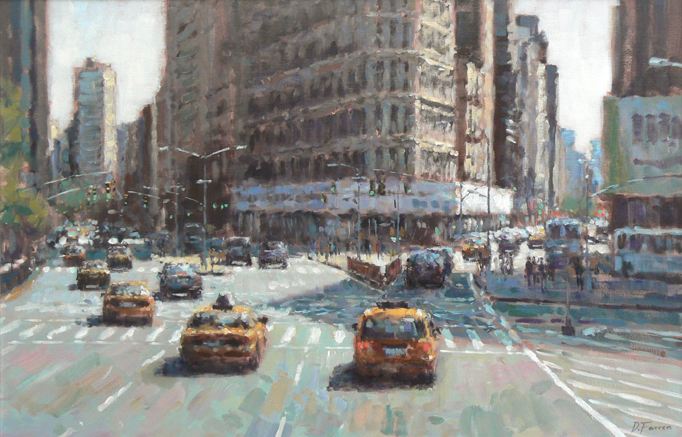 David FARREN - Taxis Downtown, Manhattan