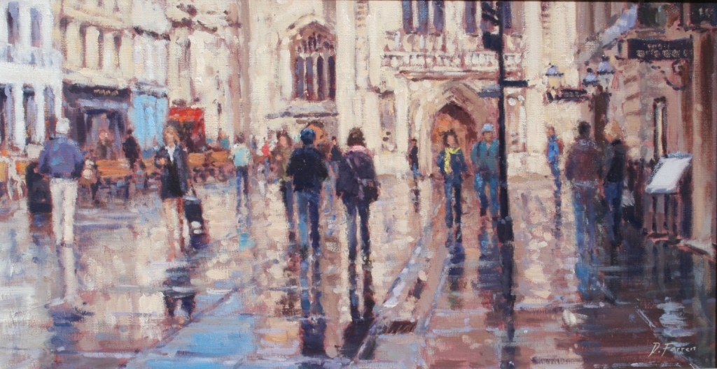 David FARREN - Sunlit Reflections, Bath Abbey