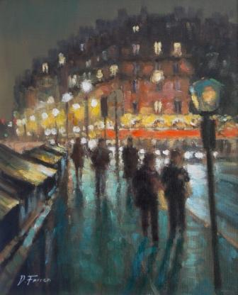 David FARREN - Nightwalk Along The Seine