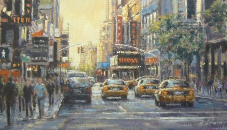 David FARREN - Evening Sun, West 49th Street