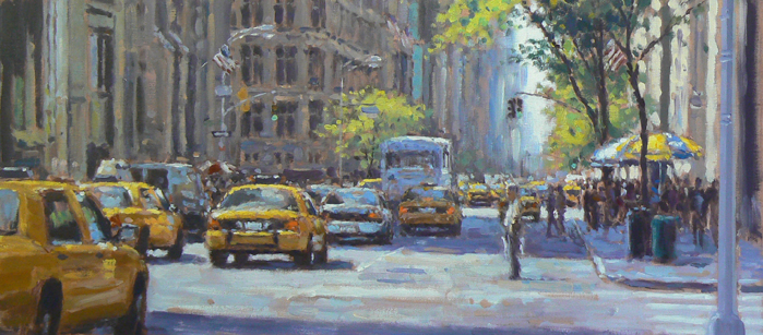 David FARREN - Fifth Avenue, Spring Afternoon