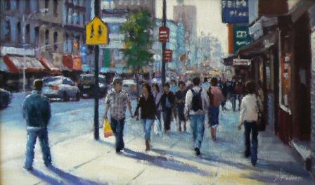 David FARREN - Sunshine, Chinatown, New York