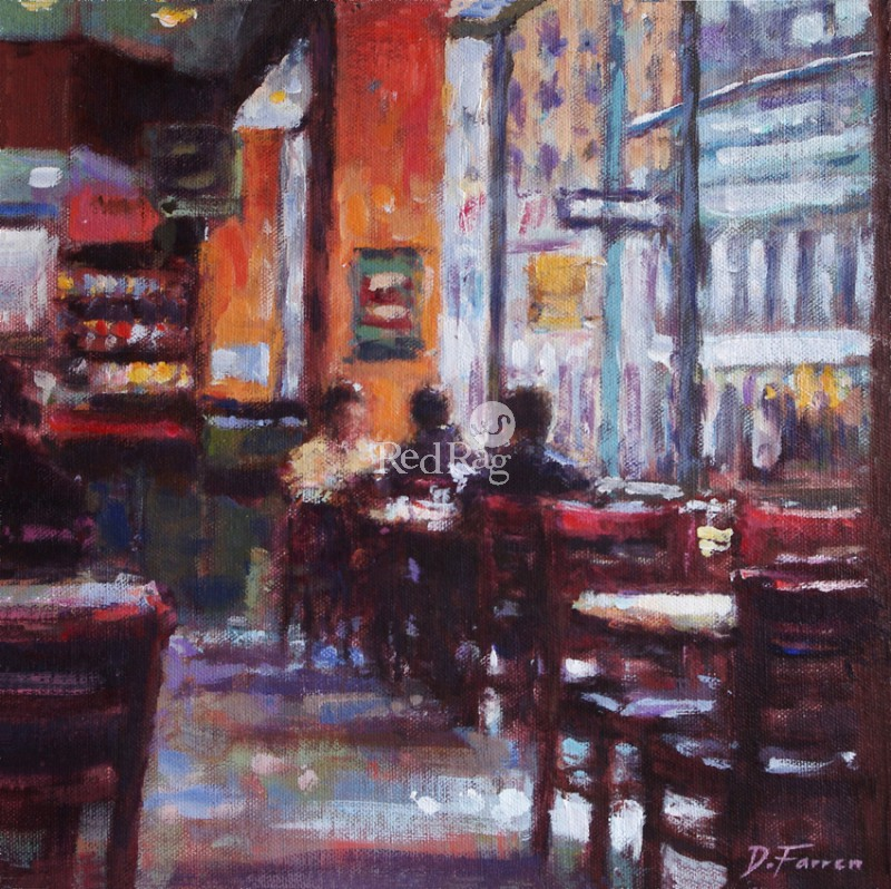 David FARREN - Window Seat, New York Deli
