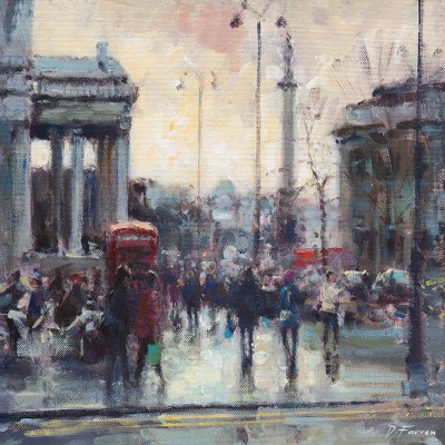 David Farren - Towards Trafalgar Square