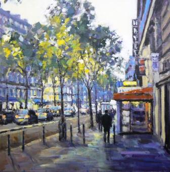David FARREN - First Light Boulevard St Michel