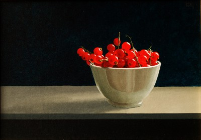 British Artist David GLEESON - Redcurrants