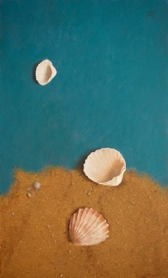 British Artist David GLEESON - Three Shells