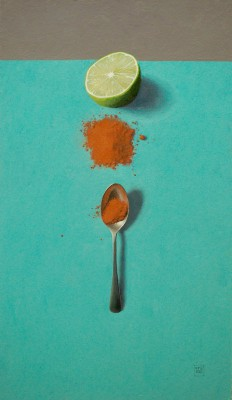 British Artist David GLEESON - Chilli, Lime