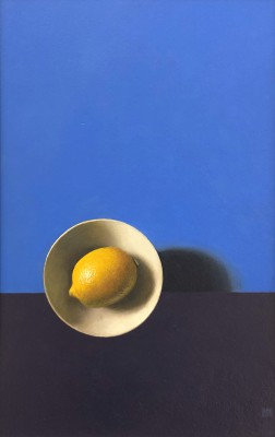 Lemon Sunrise painting by artist David GLEESON