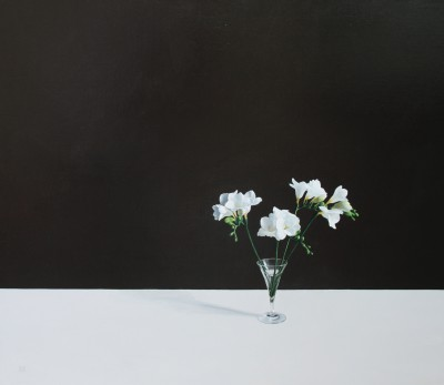 British Artist David GLEESON - Freesias