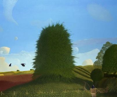 Limited Edition Prints Artist David Inshaw - Bonjour M Stockham