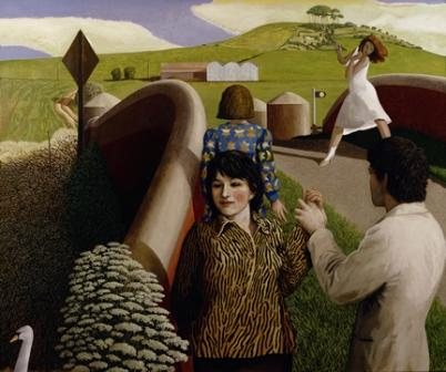 Limited Edition Prints Artist David Inshaw - Hand Holding