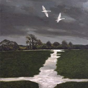 Limited Edition Prints Artist David Inshaw - Lower Bockhampton I