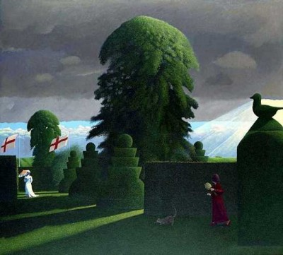 Limited Edition Prints Artist David Inshaw - Presentiment