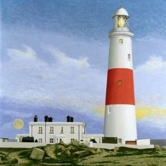 British Artist David Inshaw - The Lighthouse