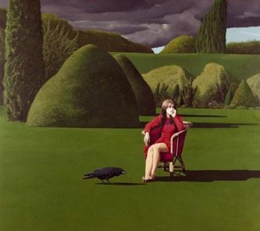 British Artist David Inshaw - The Raven