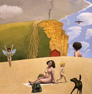 Limited Edition Prints Artist David Inshaw - West Bay II