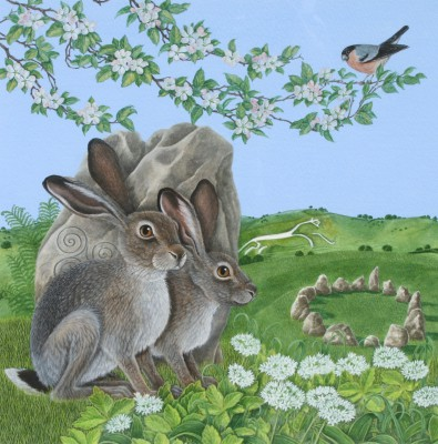 David POLE - Watchful Hares