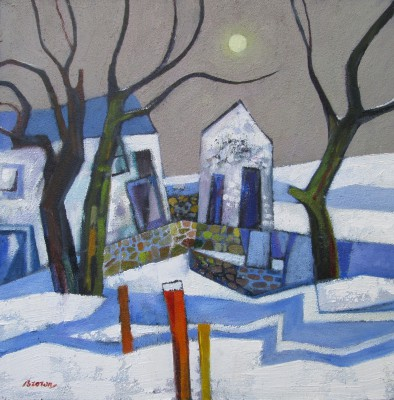 Davy BROWN, contemporary artist - Early Snowfall