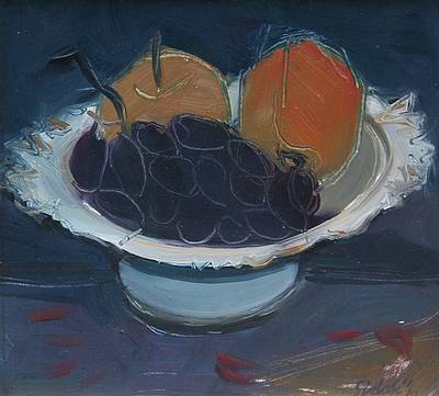 British Artist Dawn SIDOLI - Grapes