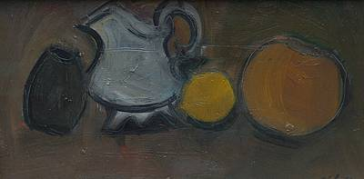 Dawn SIDOLI - Still Life with Lemon