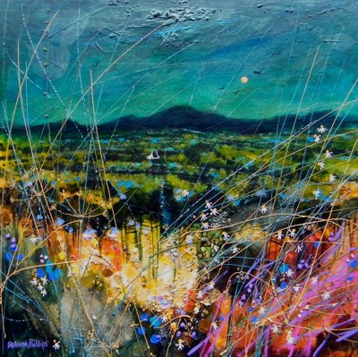 Limited Edition Prints Artist Deborah Phillips - Midnight Summer Moon