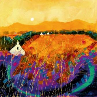 Limited Edition Prints Artist Deborah Phillips - Ayrshire Gold