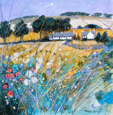 Deborah Phillips - Farmstead Fieldedge near Forfar