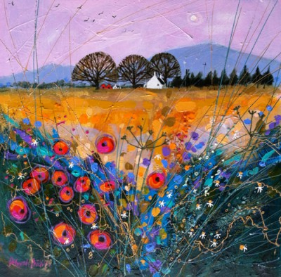 Limited Edition Prints Artist Deborah Phillips - Late Harvest Poppies