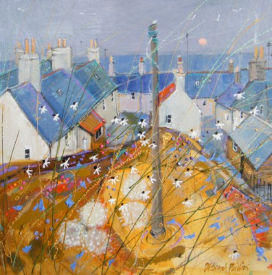 Limited Edition Prints Artist Deborah Phillips - Portsoy Daisies