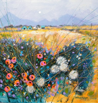 Limited Edition Prints Artist Deborah Phillips - Cairngorm Weedy Harvest