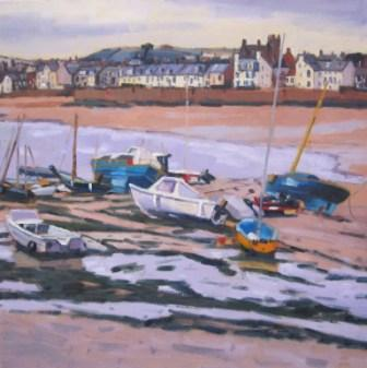 Elaine FINE - Yellow Boat, Elie Beach, Fife