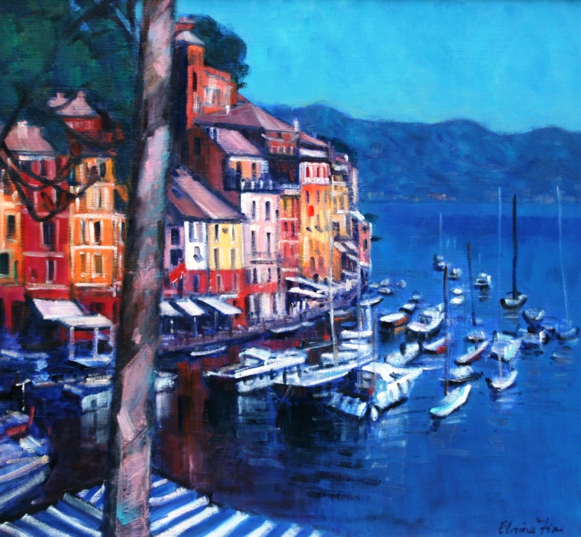 Elaine FINE - Early Evening, Portofino