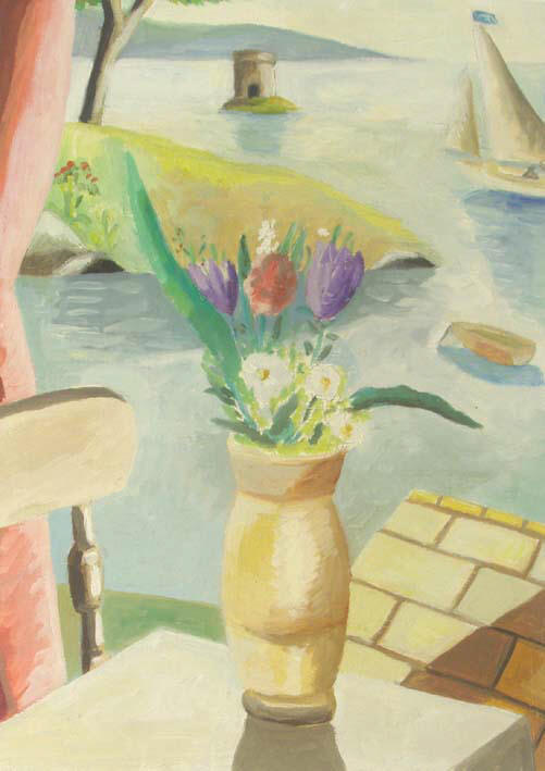 Emrys WILLIAMS - Still Life With Martello Tower