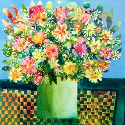 Sunday Flowers painting by artist Este MacLEOD