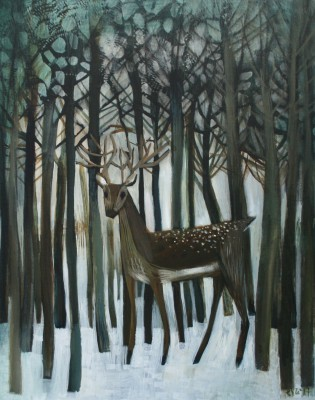 British Artist Este MacLEOD - Young Deer