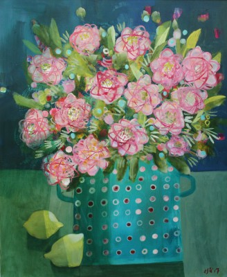 British Artist Este MacLEOD - Roses for Carrie