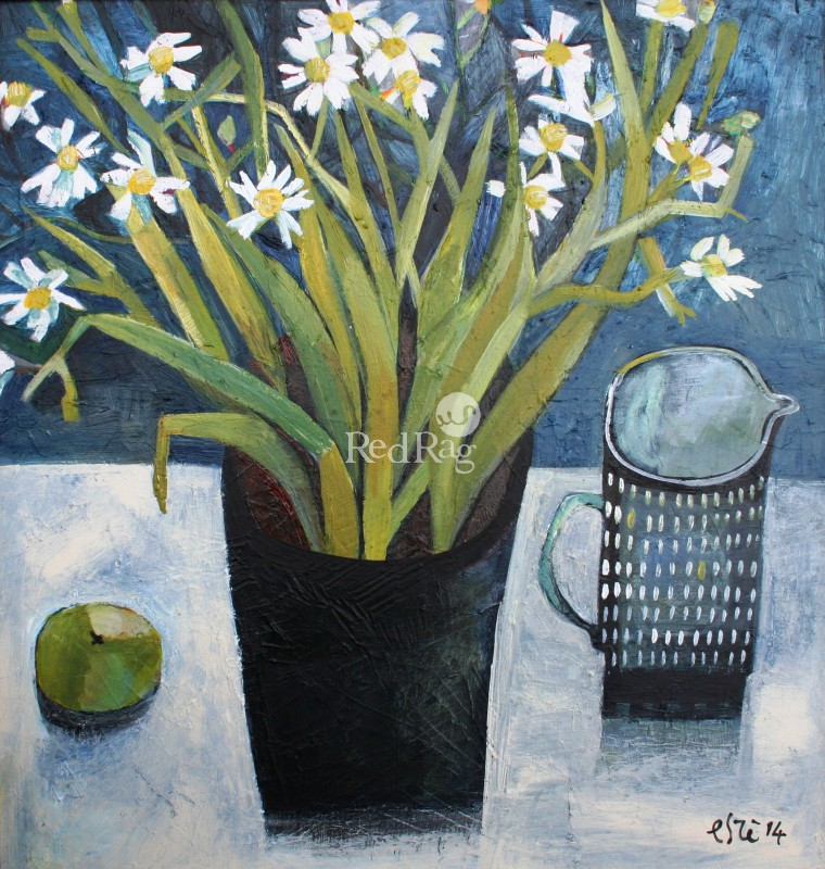 Este MacLEOD - Daisies and Milk Jug