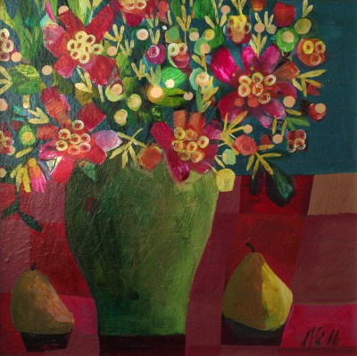 Este MacLEOD - Peonies and Pears